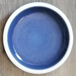 Vintage Heath Ceramics Plate Moonstone & White